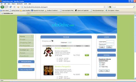 cara membuat web sederhana dengan xp membuat web e commerce dengan php dan mysql ri32 s weblog