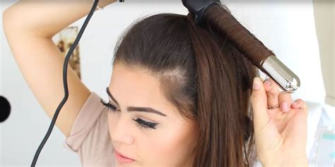 how to curl your hair fast with a wand how to curl hair fast 5 ways to curl hair in under 10