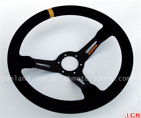 momo volanti momo volanti mod 08 dished 350mm suede steering wheel