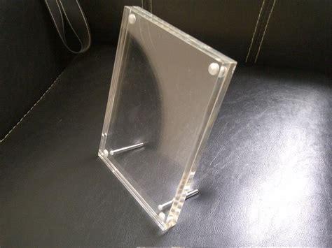 Acrylic Untuk Canopy jual magnet tent card harga murah jakarta oleh jago acrylic