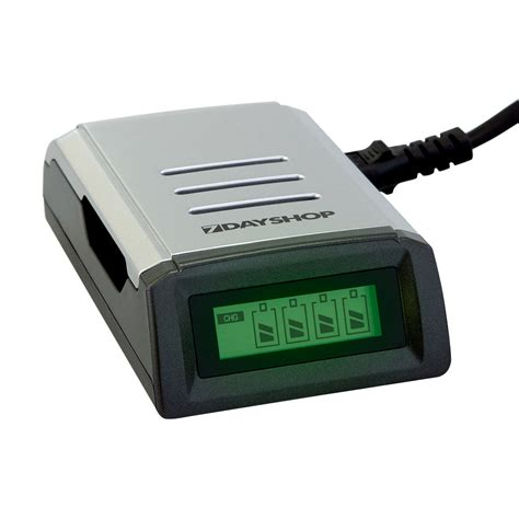 four aa batteries lcd display intelligent fast battery charger for aa aaa