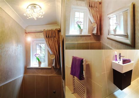 Interiors Weybridge by Ground Floor Cloakroom Bathroom Interior Design