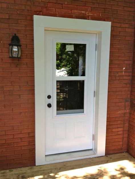 exterior door with windows that open istranka for