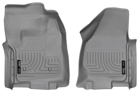 Floor Mats For Ford F250 by Husky Weatherbeater All Weather Floor Mats For Ford F250