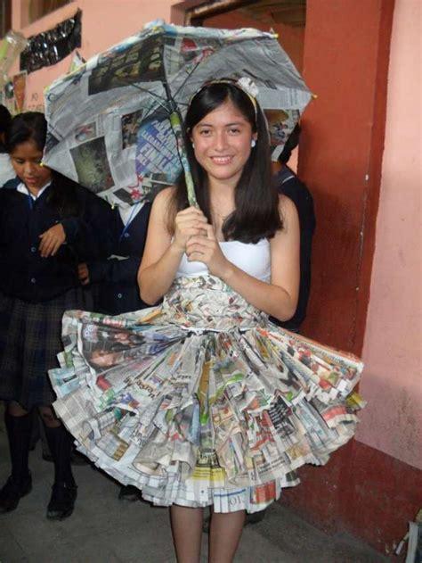 imagenes de disfraces de halloween reciclados vestidos de princesa con material reciclable imagui