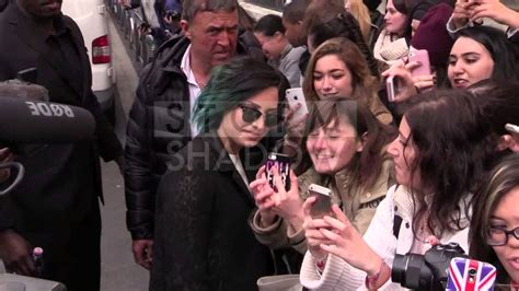 the fan radio station demi lovato giving it to the fan at nrj radio station in