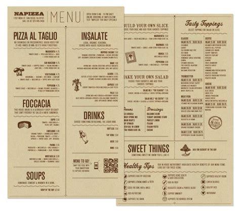 menu design jde menu food napizza food menu by miller creative via