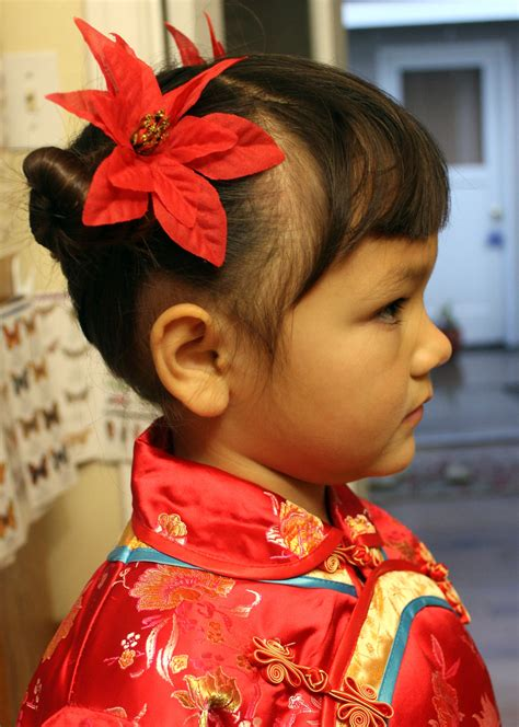 chinese haircuts games for kids traditional chinese children s hairstyle two buns on the