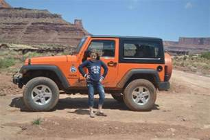 Jeep Rental Moab Another Orange Jeep Picture Canyonlands Jeep Adventures