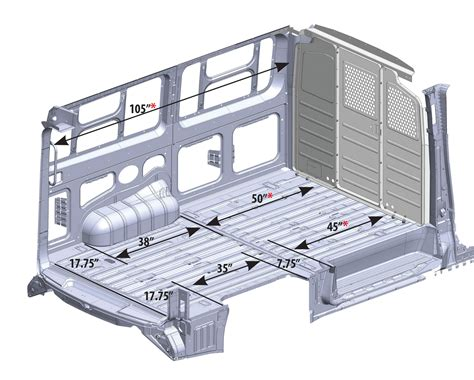 interior dimensions vehicle dimensions