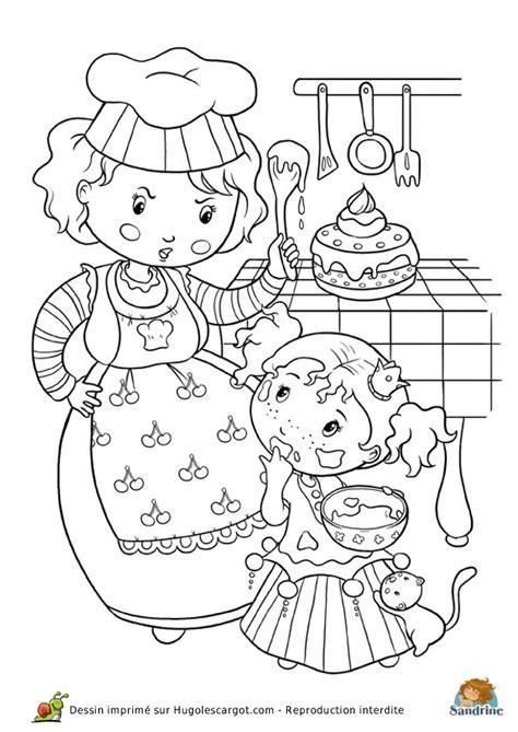dessin de cuisine à imprimer coloriage princesse cuisine page 6 sur 13 sur