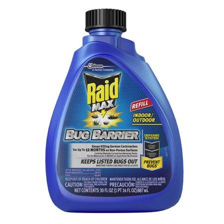 raid max bug barrier trigger refill  fluid ounces