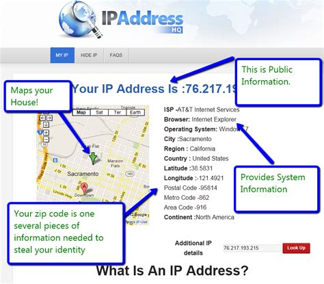 Map Address Finder How To Find Ip Address And Location Of Any User