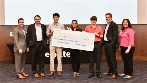 Deloitte Mba Competition 2016 by Student Team Wins Third Place In Deloitte Cyber Threat