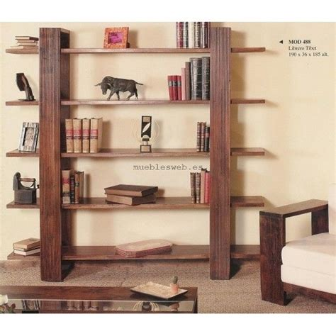 libreros de madera modernos 17 best ideas about libreros de madera on