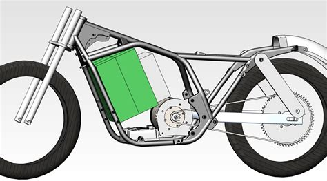 frame design of motorcycle yameb etekchopper tearing er down and cleaning er up