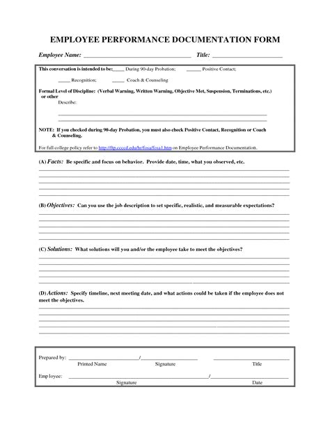 Employee Recognition Letter Sle Template Format Autos Post Employee Documentation Template