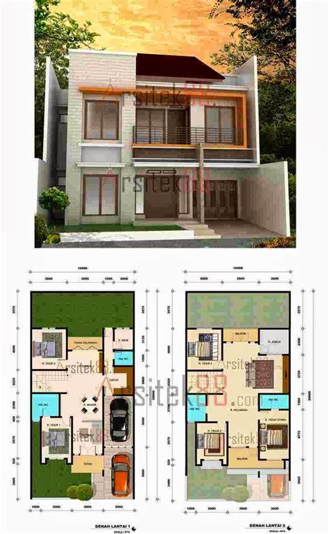 sketsa denah rumah minimalis 1 lantai gambar desain holidays oo