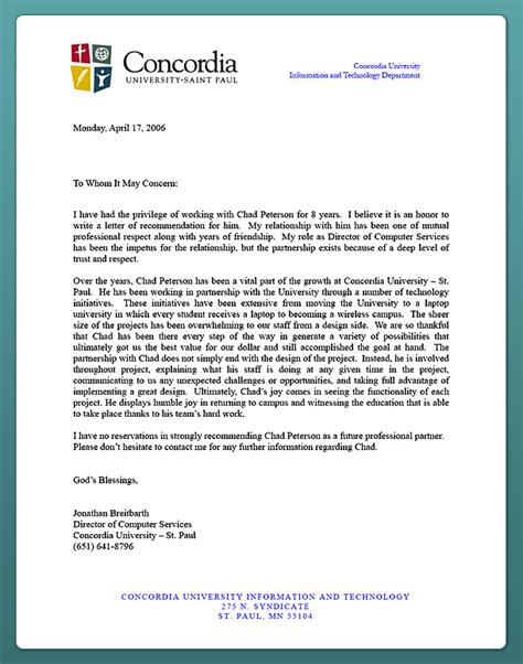 Recommendation Letter For Candidate How To Write A Recommendation Letter For A Phd Candidate