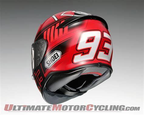 Helm Shoei Marc 2015 shoei rf1200 marc marquez replica helmets unveiled