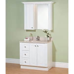 magickwoods white premiere 37 in single bathroom vanity