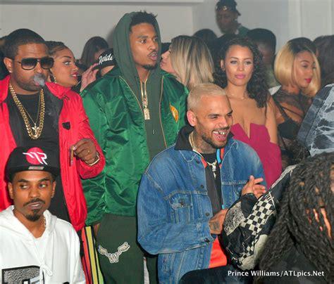 Chris Brown Trey Songz At Boule Rd In Los Angeles