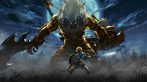 wallpaper  master trials  legend  zelda breath