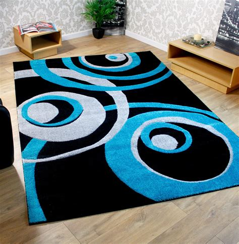 teal and black rug black purple brown teal blue modern large living room rugs ebay