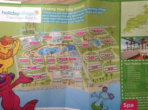 flamingo resort map holliday map picture of tui family