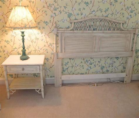 faux bamboo queen  piece bedroom set  thomasville allegro  stdibs