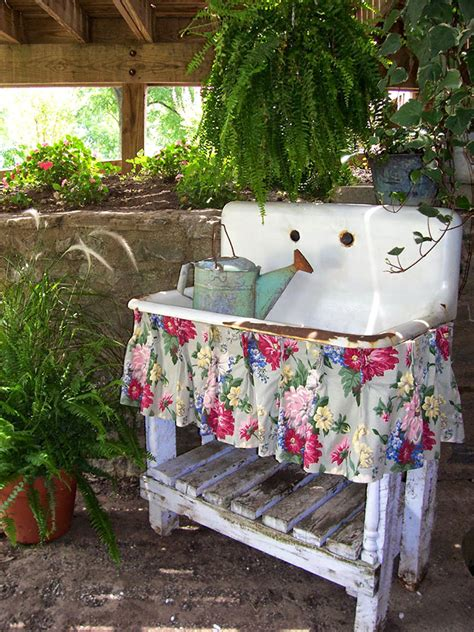 potting bench sink potting bench and table ideas house of hawthornes