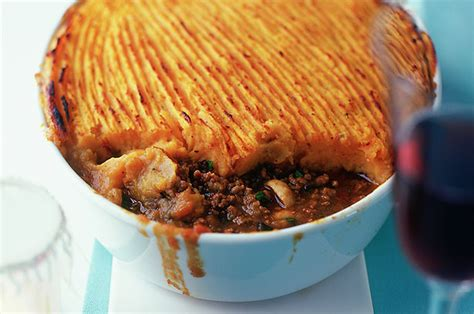 spiced cottage pie with sweet potato topping recipe