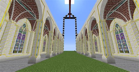 Romanesque Church Floor Plan by Chisel Amp Bits Gothic Church Minecraft Project