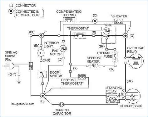 ge side by side refrigerator wiring diagram side free