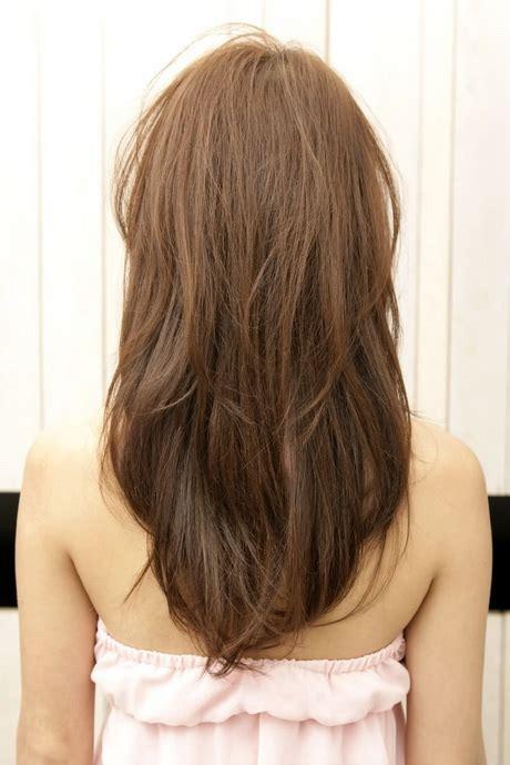 vs layered v shaped layered haircut