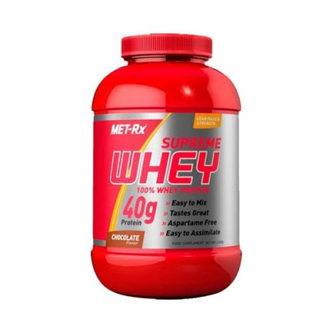 supreme whey protein supreme whey 2268gr met rx naturmuscle