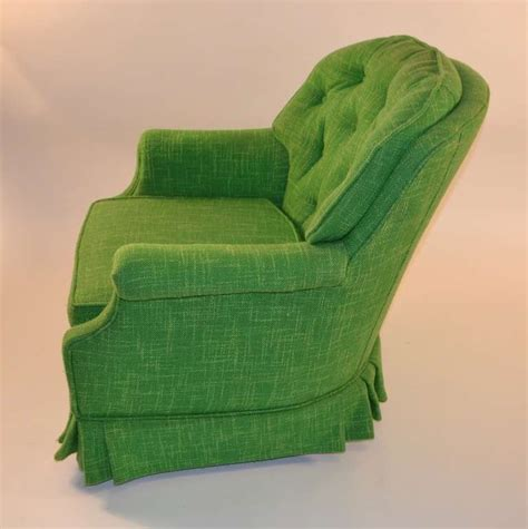 decorative armchairs pair of decorative green tufted armchairs at 1stdibs