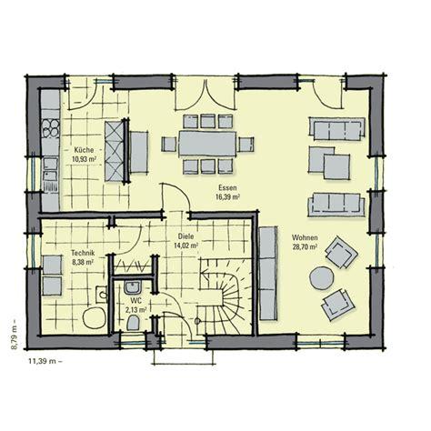 Grundriss Eg Einfamilienhaus by Einfamilienhaus Guenstig Bauen Birkenallee Eines Der 5