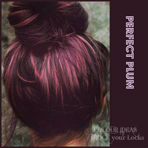 Plumb Hair Colour by Idea Hair Color Plum Color
