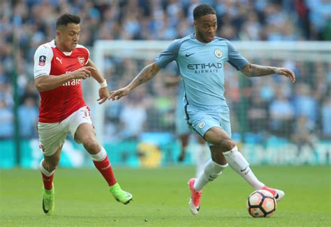 alexis sanchez raheem sterling arsenal transfer news raheem sterling reveals reaction to