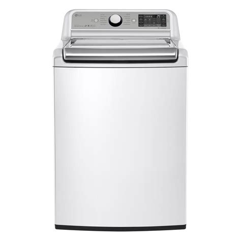 Lg Top Loading Washer T2350vsam lg electronics 5 2 cu ft high efficiency top load washer