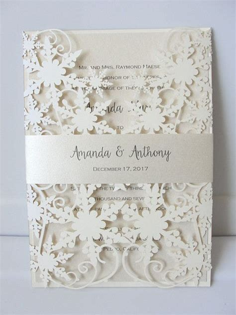 Winter Wedding Invitations by 17 Best Ideas About Winter Wedding Invitations On