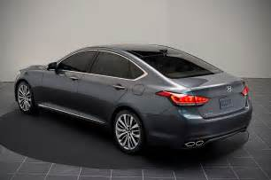 2015 hyundai genesis rear photo 45