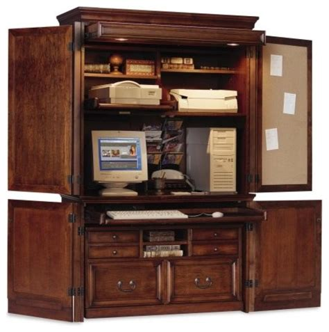 Garage Cabinets Ireland Mount View Armoire By Kathy Ireland Traditional