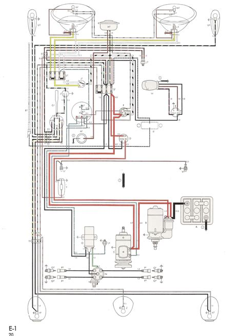 vw beetle generator wiring diagram on 1970 volkswagen