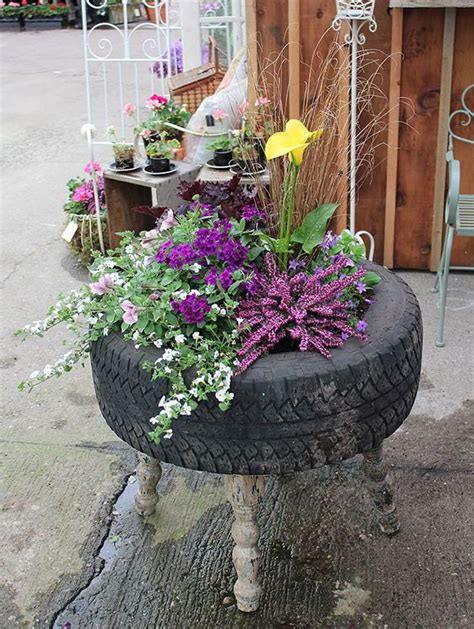 brilliant ways  reuse  recycle  tires