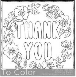 thank you coloring page thank you printable coloring page for adults pdf jpg