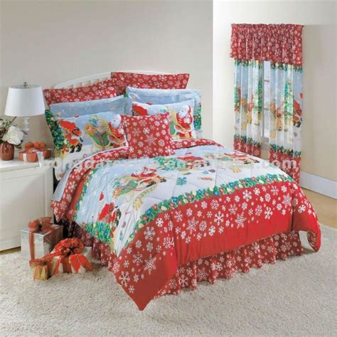 Flannel Duvet Cover Sets 100 Cotton Printed Snowflake Christmas Duvet Cover Buy