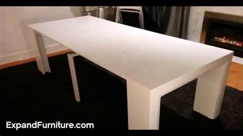 expand furniture space saving table becomes massive dinner table expand