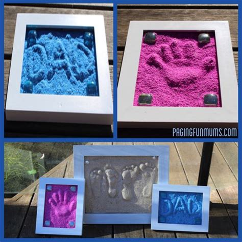 7 Easy Activities To Do - diy easy to make sand imprints find projects to